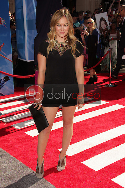 Hilary Duff<br />