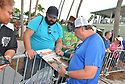 DELRAY BEACH, FL - NOVEMBER 23: Jon Lovitz signs autographs during the 30TH Annual Chris Evert Pro-Celebrity Tennis Classic - Day 2 at the Delray Beach Tennis Center on November 23, 2019 in Delray Beach, Florida.  ( Photo by Johnny Louis / jlnphotography.com )