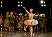 The North Carolina Dance production of the Nutcracker at Belk Theatre in Charlotte, NC.