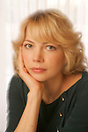 LOS ANGELES,CA - NOVEMBER 10,2008: Michelle Williams photographed at Four Seasons Hotel November 10, 2008.