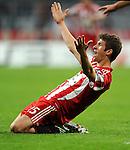 Fussball, Uefa Champions League 2010/2011: FC Bayern Muenchen - AS Rom