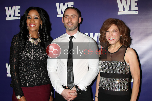"""Yvonne Capehart, Christopher Donaghue, Fran Walfish<br /> at the WE tv Presents """"The Evolution of Relationship Reality Shows,"""" Paley Center for Media, Beverly Hills, CA 03-19-14<br /> Dave Edwards/DailyCeleb.com 818-249-4998"""