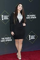 LOS ANGELES - NOV 10:  Deena Nicole Cortese at the 2019 People's Choice Awards at Barker Hanger on November 10, 2019 in Santa Monica, CA