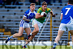 John Curran South Kerry in action against Barry John Keane  Kerins O'Rahillys in the Kerry Senior Football Championship Semi Final at Fitzgerald Stadium on Saturday.