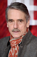 "Jeremy Irons<br /> arriving for the ""Red Sparrow"" premiere at the Vue West End, Leicester Square, London<br /> <br /> <br /> ©Ash Knotek  D3382  19/02/2018"