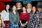 Catherine Kozien, Karla Whyte, Deirdre Lenihan, Meryem Sheehy, Kat Flynn and Stephanie Griffin, enjoying Women's Christmas at Ristorante Uno, Tralee, on Friday night last.