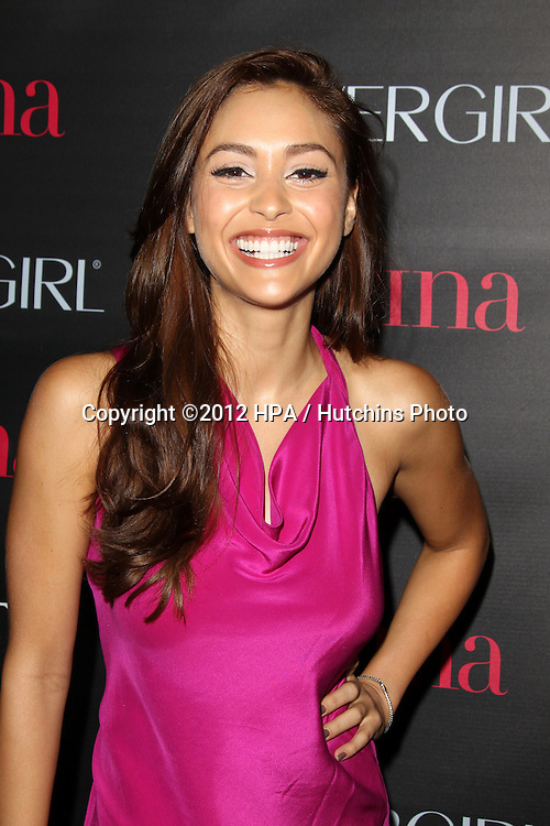 "LOS ANGELES - OCT 4:  Lindsey Morgan arrives at the ""Latinos In Hollywood"" Event at The London West Hollywood on October 4, 2012 in West Hollywood, CA"
