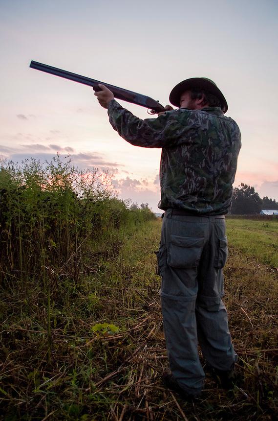 Dove hunting in Arkansas.