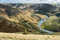 John Day River Canyon downstream of 30 Mile Creek.  OR.  This is from the west side of the river.  Early Spring.