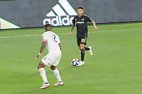 Los Angeles, CA - Saturday April 13, 2019: Los Angeles Football Club defeated FC Cincinnati 2-0 in a Major League Soccer (MLS) game at Banc of California Stadium.