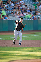 Todd Czinege (18) of the Grand Junction Rockies during the game against the Ogden Raptors at Lindquist Field on June 25, 2018 in Ogden, Utah. The Raptors defeated the Rockies 5-3. (Stephen Smith/Four Seam Images)