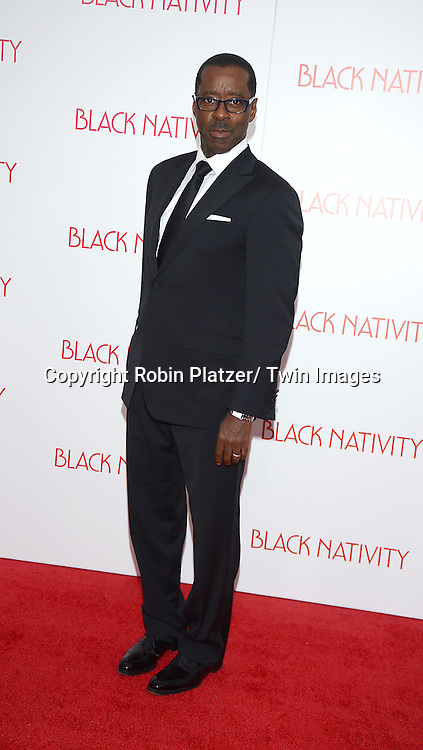 Courtney B Vance attend the New York Premiere of &quot;Black Nativity&quot; on <br /> November 18, 2013 at the Apollo Theater in New York City.