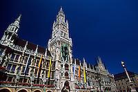 Neues Rathaus, Marienplatz, Munich, Germany