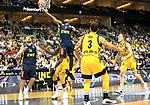 05.06.2019, Mercedes Benz Arena, Berlin, GER, ALBA BERLIN vs.  Oldenburg, <br /> im Bild Peyton Siva (ALBA Berlin #3), Luke Sikma (ALBA Berlin #43), Niels Giffey (ALBA Berlin #5),<br /> William Cummings (Baskets Oldenburg #3), Rasid Mahalbasic (Baskets Oldenburg #24)<br /> <br />      <br /> Foto © nordphoto / Engler