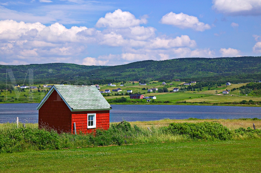 Seaside shack, Nova Scotia, Canada