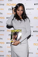 NEW YORK, NY - MAY , 2014:  Actress Zoe Saldana pictured at Moves 2014 Spring Issue Cover Party on May 7,  2014 in New York City  ©HP/Starlitepics /Nortephoto.com