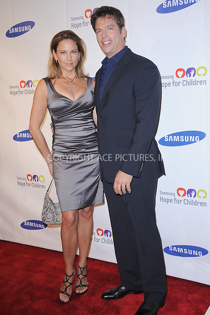 WWW.ACEPIXS.COM . . . . . .June 7, 2011...New York City..... Jill Goodacre and Harry Connick Jr attend the Samsung Hope for Children Gala at Cipriani Wall Street on June 7, 2011 in New York City.......Please byline: KRISTIN CALLAHAN - ACEPIXS.COM.. . . . . . ..Ace Pictures, Inc: ..tel: (212) 243 8787 or (646) 769 0430..e-mail: info@acepixs.com..web: http://www.acepixs.com .