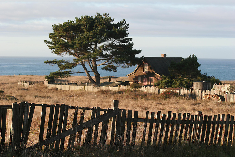 Portugues flat house, Mendocino Village