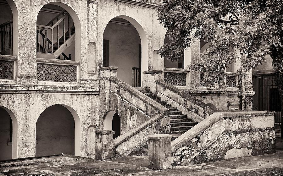 Entrance to the Beihai (Pakhoi) Custom House (Built in 1883).