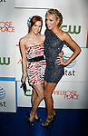 "LOS ANGELES, CA. - August 22: Ashlee Simpson-Wentz and Katie Cassidy arrive at the ""Melrose Place"" Los Angeles Premiere Party on August 22, 2009 in Los Angeles, California."