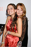 "HOLLYWOOD, CA. - September 15: Actress Lea Thompson (R) and daughter Zoe Deutch arrive at the world premiere of ""My Best Friend's Girl"" at The Arclight Hollywood on September 15, 2008 in Hollywood, California."