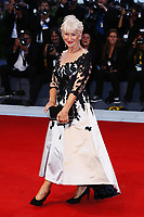 VENICE, ITALY - SEPTEMBER 03: Helen Mirren attends ''The Leisure Seeker (Ella & John)' Red Carpet during 74nd Venice Film Festival at Palazzo Del Cinema on September 3, 2017 in Venice, Italy. (Mark Cape/insidefoto)