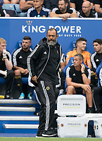 Wolves manager Nuno Espírito Santo during the Premier League match between Leicester City and Wolverhampton Wanderers at the King Power Stadium, Leicester, England on 10 August 2019. Photo by Andy Rowland.
