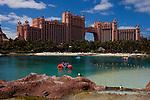 Scenes from The Atlantis Casino Resort Spa in Nassau, The Bahamas March 2011..