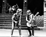 Ozzy Osbourne 1981 with Randy Rhoads rehearsal at San Bernardino Swing Auditorium<br /> &copy; Chris Walter