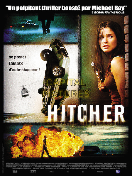 FRENCH POSTER ART<br /> in The Hitcher (2007) <br /> *Filmstill - Editorial Use Only*<br /> CAP/NFS<br /> Image supplied by Capital Pictures