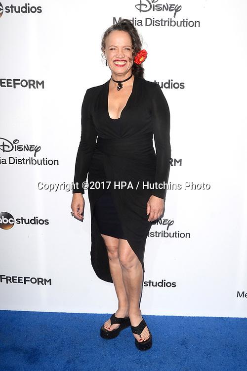 LOS ANGELES - MAY 21:  Rena Owen at the 2017 ABC/Disney Media Distribution International Upfront at the Walt Disney Studios on May 21, 2017 in Burbank, CA