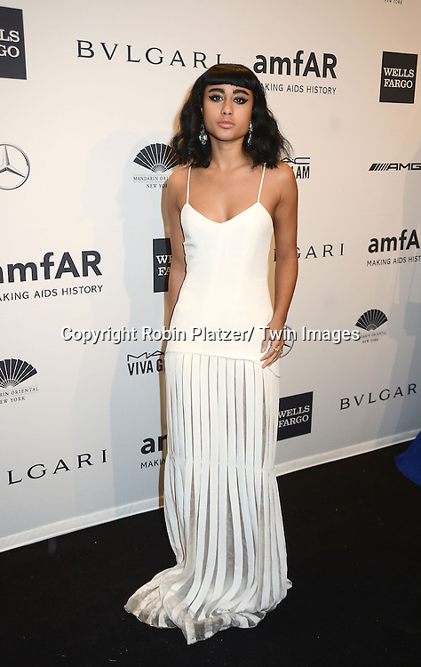 Natalia Kills attends the amfAR New York Gala on February 5, 2014 at Cipriani Wall Street in New York City.