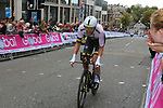 Luke Durbridge (AUS) climbs Parliment Street during the Men Elite Individual Time Trial of the UCI World Championships 2019 running 54km from Northallerton to Harrogate, England. 25th September 2019.<br /> Picture: Seamus Yore | Cyclefile<br /> <br /> All photos usage must carry mandatory copyright credit (© Cyclefile | Seamus Yore)