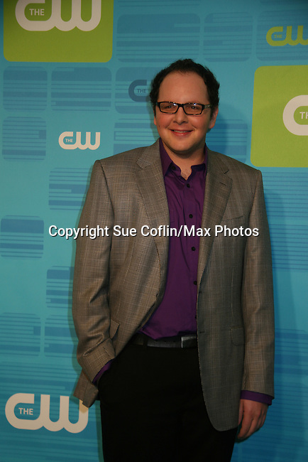 Austin Basis on Life Unexpected at The CW Upfront 2010 green carpet arrivals on May 20, 2010 at Madison Square Gardens, New York, New York. (Photo by Sue Coflin/Max Photos)