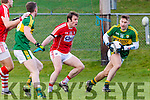 Kerry James O'Donoghue turns Cork 23 Cork during the McGrath cup clash in Mallow on Sunday