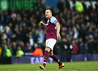 John Terry of Aston Villa celebrates Aston Villas victory against Wolverhampton Wanderers<br /> <br /> Photographer Leila Coker/CameraSport<br /> <br /> The EFL Sky Bet Championship - Aston Villa v Wolverhampton Wanderers - Saturday 10th March 2018 - Villa Park - Birmingham<br /> <br /> World Copyright &copy; 2018 CameraSport. All rights reserved. 43 Linden Ave. Countesthorpe. Leicester. England. LE8 5PG - Tel: +44 (0) 116 277 4147 - admin@camerasport.com - www.camerasport.com