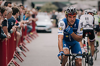 Defending national champion Philippe Gilbert (BEL/Quick Step floors) right before the start of the race<br /> <br /> 2017 National Championships Belgium - Elite Men - Road Race (NC)<br /> 1 Day Race: Antwerpen &gt; Antwerpen (233km)
