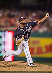 22 July 2016: Washington Nationals pitcher Felipe Rivero on the mound against the San Diego Padres at Nationals Park in Washington, DC. The Padres defeated the Nationals 5-3 to take the first game of their 3-game, weekend series. Mandatory Credit: Ed Wolfstein Photo *** RAW (NEF) Image File Available ***
