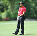 TIGER WOODS, during the final round of the Quail Hollow Championship, on May 3, 2009 in Charlotte, NC.