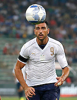 Graziano Pelle during the  friendly  soccer match,between Italy  and  France   at  the San  Nicola   stadium in Bari Italy , September 02, 2016<br /> <br /> amichevole di calcio tra le nazionali di Italia e Francia