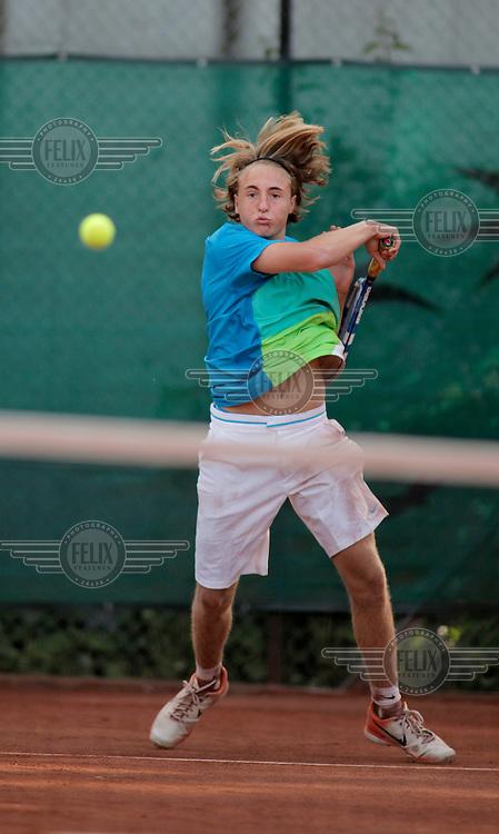 Johan Skattum. Tennis lag NM Norwegian Team Championship 2010