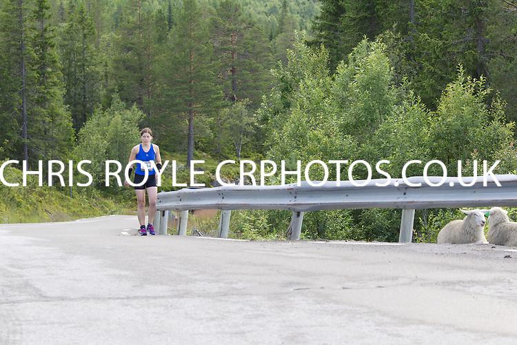 .Race number 284 - Hilde Vigdis Larsen - - Norseman 2012 - Photo by Justin Mckie Justinmckie@hotmail.com