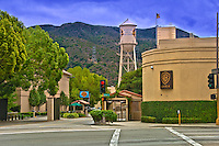 Warner Bros. Gate 4, Water Tower,  Burbank, CA,