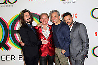 "LOS ANGELES - FEB 7:  Kyan Douglas, Carson Kressley, Thom Filicia, Jai Rodriguez at the ""Queer Eye"" Season One Premiere Screening at the Pacific Design Center on February 7, 2018 in West Hollywood, CA"