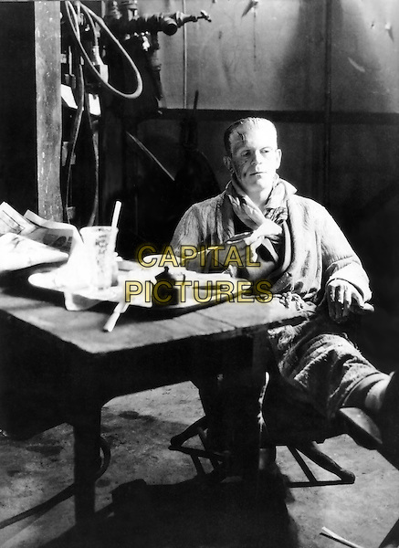 Boris Karloff .in The Bride of Frankenstein.*Filmstill - Editorial Use Only*.CAP/PLF.Supplied by Capital Pictures.