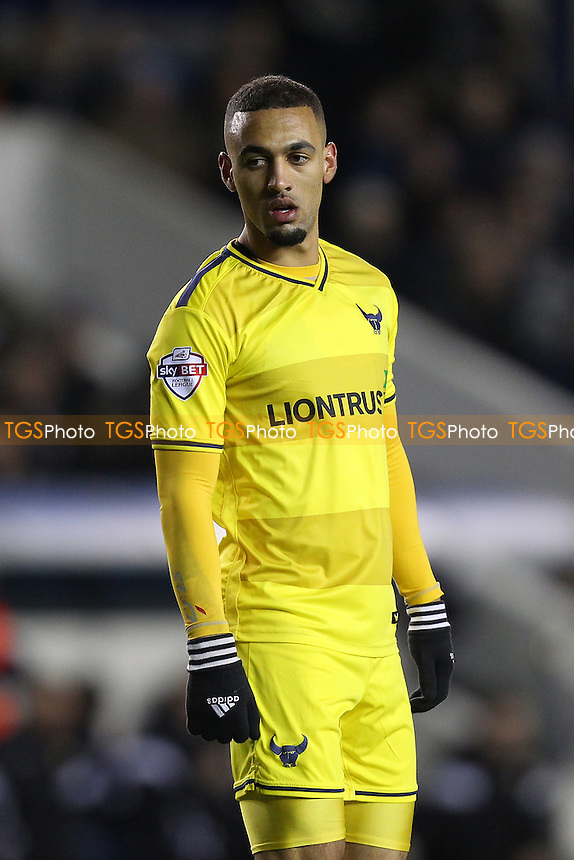 Kemar Roofe of Oxford United during Millwall vs Oxford United at The Den