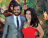 """LOS ANGELES - JUL 28:  Eugenio Derbez, Alessandra Rosaldo at the """"Dora and the Lost City of Gold"""" World Premiere at the Regal LA Live on July 28, 2019 in Los Angeles, CA"""