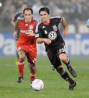 DC United forward Jaime Moreno (99)  Toronto FC. defeated DC United 3-2 at RFK Stadium, October 23, 2010.