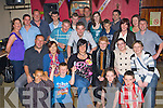 Ruth O'Connor Knocknagoshel seated centre celebrates her 30th birthday with her family and friends in O'Connor's bar Knocknagoshel on Friday night ...