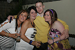 Christopher Matthews celebrating his birthday in The Trinity Arms with his girlfriend, Stacy Farrell, Nicola Farrell and Joanne Tiernan....Photo NEWSFILE/Jenny Matthews.(Photo credit should read Jenny Matthews/NEWSFILE)....This Picture has been sent you under the condtions enclosed by:.Newsfile Ltd..The Studio,.Millmount Abbey,.Drogheda,.Co Meath..Ireland..Tel: +353(0)41-9871240.Fax: +353(0)41-9871260.GSM: +353(0)86-2500958.email: pictures@newsfile.ie.www.newsfile.ie.FTP: 193.120.102.198.